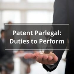 Patent Paralegal Duties to Perform
